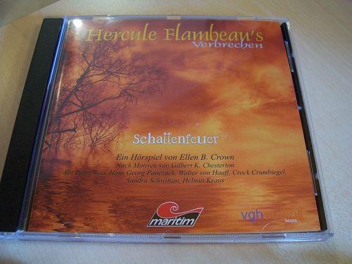 Hercule Flambeau's Verbrechen Hörspiel CD 001 1 Schattenfeuer  Maritim  gebr.