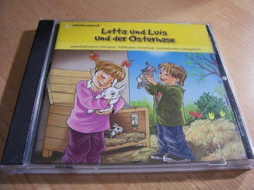 Lotta und Luis Hörspiel CD Spezial - und der Osterhase  Bibellesebund gebr.