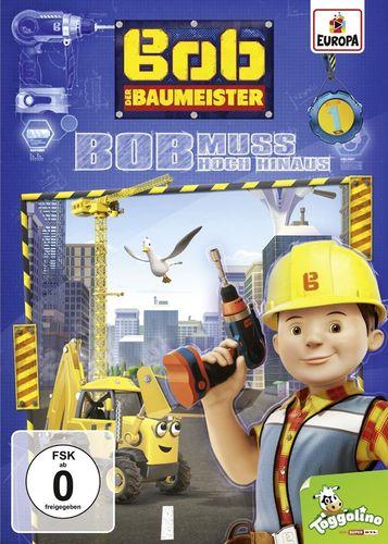 DVD Bob der Baumeister 01 1 Bob muss hoch hinaus TV-Serie 4 Episoden 2016 NEU & OVP