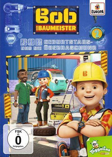 DVD Bob der Baumeister 02 2 Bob und die Geburtstagsüberraschung TV-Serie 4 Episoden 2016 NEU & OVP