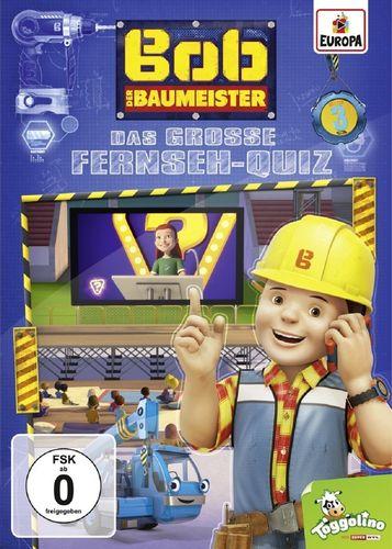 DVD Bob der Baumeister 03 3 Das große Fernseh-Quiz  TV-Serie 4 Episoden 2016 NEU & OVP