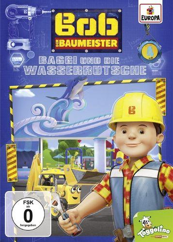 DVD Bob der Baumeister 04 4 Baggi und die Wasserrutsche  TV-Serie 4 Episoden 2016 NEU & OVP