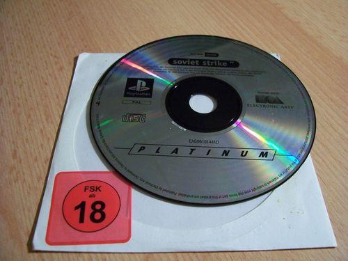 PlayStation 1 PS1 Spiel - Soviet Strike Platinum  PSone PSX  USK 18  - nur CD  gebr.