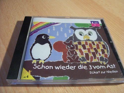 Die 3 vom Ast Hörspiel CD 002 2 schon wieder die 3 vom Ast von ERF  gebr.