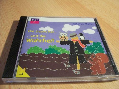 Die 3 vom Ast Hörspiel CD 007 7 und die Wahrheit von ERF  gebr.