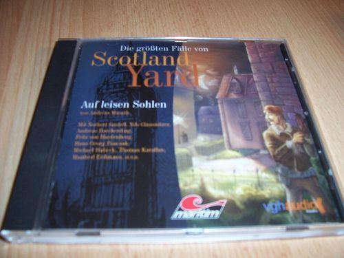 Die größten Fälle von Scotland Yard Hörspiel CD 002 2 Auf leisen Sohlen  Maritim 2006  gebr.