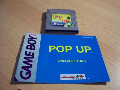 Nintendo Game Boy Pop up - für GB Color + GBA  DMG-OP-NOE PAL  Modul + Anleitung  gebr.
