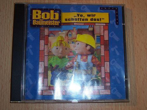 PC CD-Rom Spiel - Bob der Baumeister - Yo, wir schaffen das! von 2001 Windows 95 + 98  USK 0 gebr.