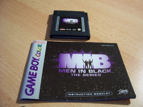 Nintendo Game Boy Color MIB Men in Black - für GB + GBA  DMG-AMNP-EUR  PAL  Modul + Anleitung  gebr.