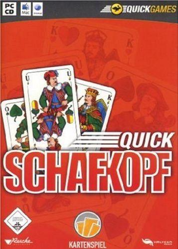 PC CD-Rom Spiel - Quick Schafkopf Kartenspiel von 2007  Windows XP + Vista  Mac USK 0  NEU & OVP