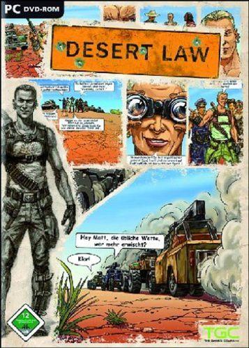 PC CD-Rom Spiel - Desert Law DVD-Rom von 2006  Windows 2000 + XP  USK 12  NEU & OVP