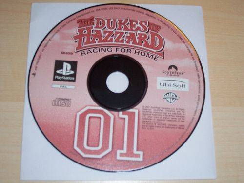 PlayStation 1 PS1 Spiel - The Dukes of Hazzard - Racing for Home  PSone PSX  USK 6  - nur CD  gebr.