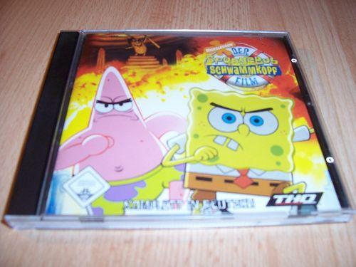 PC CD-Rom Spiel - SpongeBob Schwammkopf - Der Film  Windows 2000 + XP  USK 0 gebr.