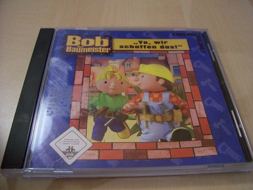 PC CD-Rom Spiel - Bob der Baumeister - Yo, wir schaffen das! von 2003 Windows 2000 + XP  USK 0 gebr.