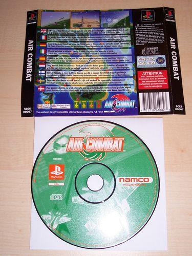 PlayStation 1 PS1 Spiel - Air Combat  PSone PSX  USK 12  - nur CD + Rückencover  gebr.