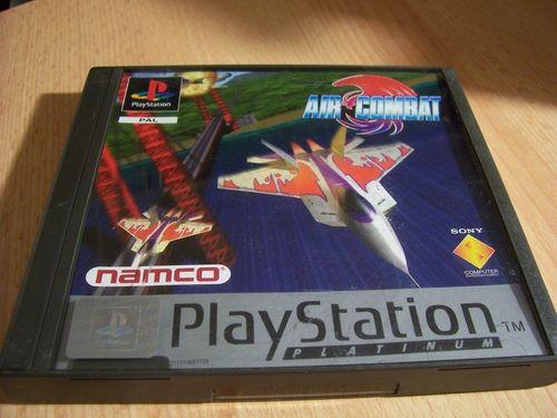 PlayStation 1 PS1 Spiel - Air Combat - Platinum  PSone PSX  USK 12  - komplett ohne Anleitung  gebr.