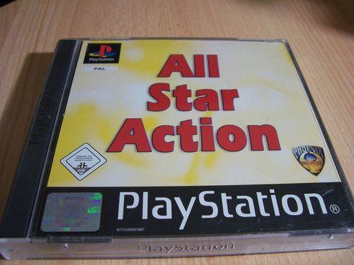 PlayStation 1 PS1 Spiel - All Star Action  PSone PSX  USK 0  - 2 CDs komplett mit Anleitung  gebr.