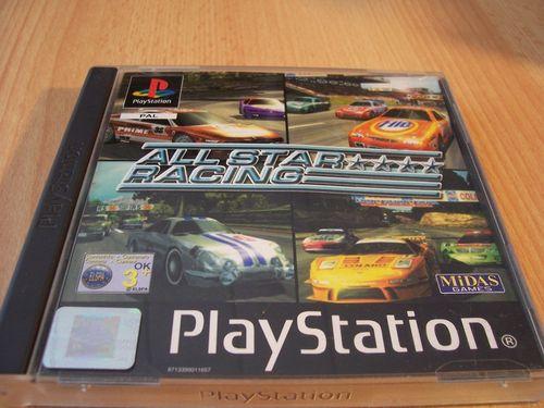 PlayStation 1 PS1 Spiel - All Star Racing  PSone PSX  USK 0  -  komplett mit Anleitung  gebr.