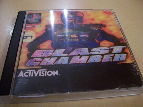 PlayStation 1 PS1 Spiel - Blast Chamber  UK  PSone PSX  USK 12  - komplett mit Anleitung CK  gebr.