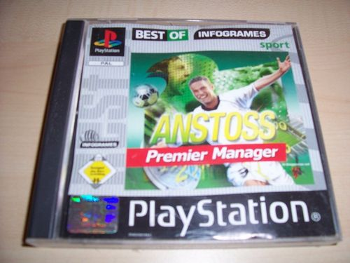 PlayStation 1 PS1 Spiel - Anstoß Premier Manager - Best of  PSone PSX  USK 0 - ohne Anleitung  gebr.