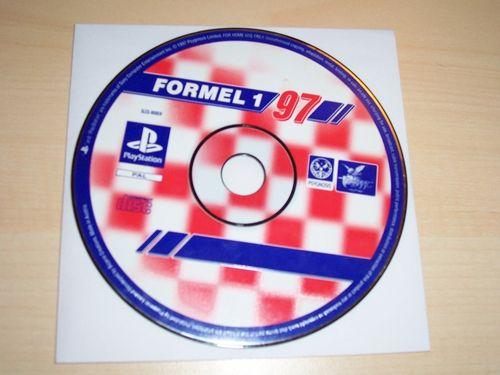 PlayStation 1 PS1 Spiel - Formel 1 - 1997 97 '97 - F1 Formula 1 PSone USK 0 - nur CD gebr.