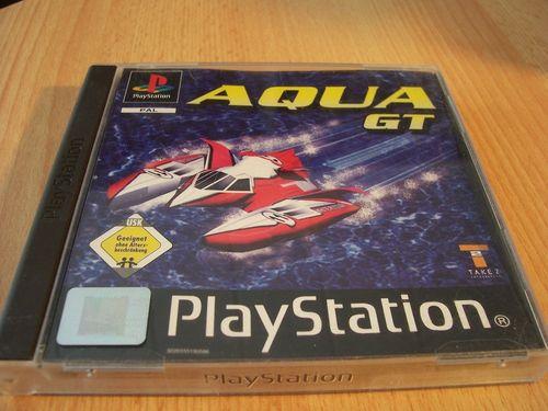 PlayStation 1 PS1 Spiel - Aqua GT  Speedboot  PSone PSX  USK 0  - komplett mit Anleitung  gebr.