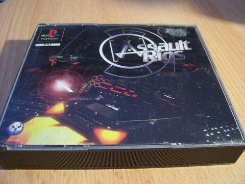 PlayStation 1 PS1 Spiel - Assault Rigs   Panzer  PSone PSX  USK 12  - komplett mit Anleitung  gebr.