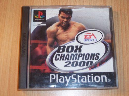 PlayStation 1 PS1 Spiel - Box Champions 2000 EA Sports PSone PSX USK 6  komplett ohne gebr.