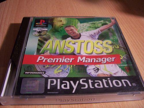 PlayStation 1 PS1 Spiel - Anstoß Premier Manager  PSone PSX  USK 0  - komplett mit Anleitung  gebr.