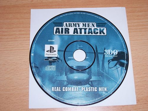 PlayStation 1 PS1 Spiel - Army Men - Air Attack 1 Real Combat Plastic Men PSone USK 16  nur CD gebr.