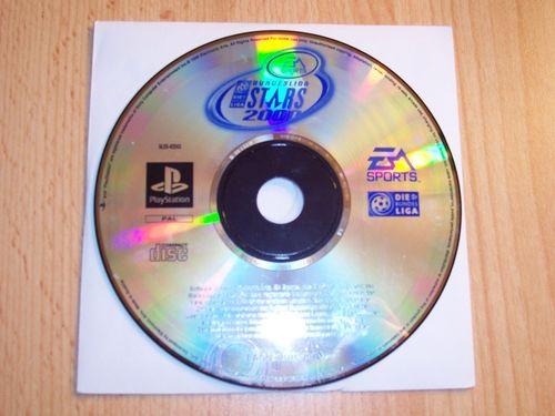 PlayStation 1 PS1 Spiel - Bundesliga Stars 2000 Fußball EA Sports  PSone USK 0  - nur CD  gebr.