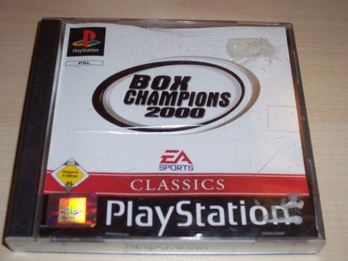 PlayStation 1 PS1 Spiel - Box Champions 2000 Classics EA Sports PSone PSX USK 6  komplett ohne gebr.