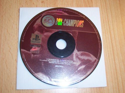 PlayStation 1 PS1 Spiel - Box Champions 1999 EA Sports  PSone USK 6  - nur CD  gebr.