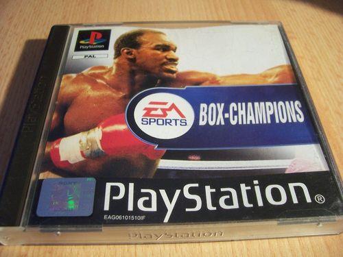 PlayStation 1 PS1 Spiel - Box Champions 1999 EA Sports PSone PSX  USK 6 - komplett + Anleitung gebr.