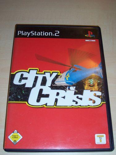 PlayStation 2 PS2 Spiel - City Crisis USK 6 komplett + Anleitung gebr.