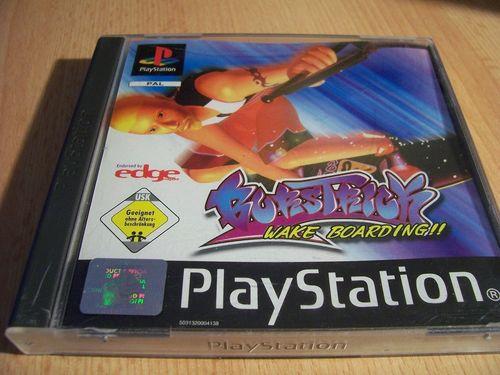 PlayStation 1 PS1 Spiel - Burstrick Wake Boarding  PSone PSX  USK 0  - komplett mit Anleitung  gebr.