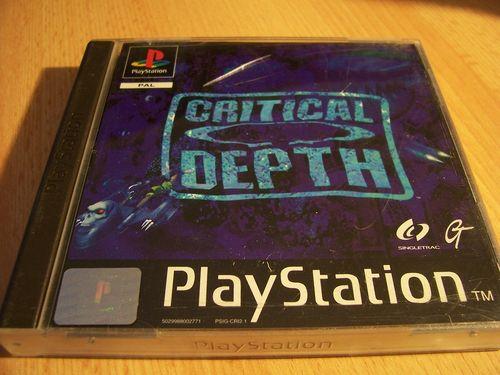 PlayStation 1 PS1 Spiel - Critical Depth  U-Boot  PSone PSX  USK 6  - komplett mit Anleitung  gebr.