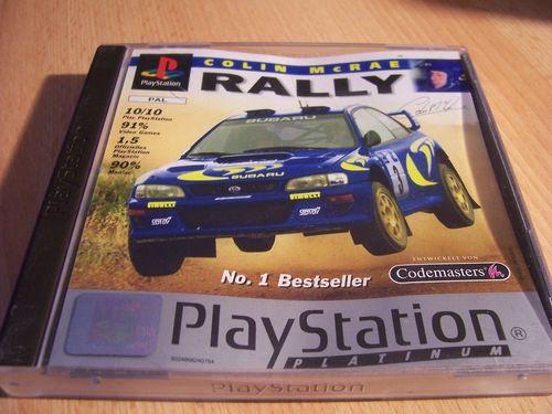 PlayStation 1 PS1 Spiel - Colin McRae Rally 1 Platinum  PSone PSX USK 0 - komplett + Anleitung gebr.