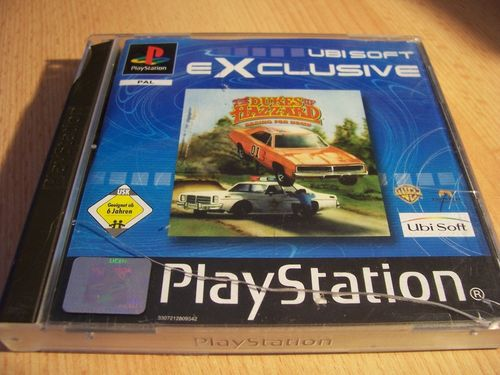 PlayStation 1 PS1 Spiel - The Dukes of Hazzard 1 Racing for Home PSone PSX USK 6 komplett +Anl gebr.