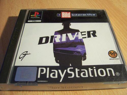 PlayStation 1 PS1 Spiel - Driver 1 Bild interactive  PSone PSX USK 6 - komplett + Anleitung  gebr.