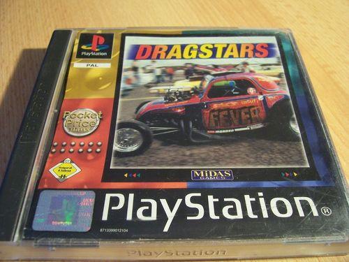 PlayStation 1 PS1 Spiel - Dragstars - Pocket Price PSone PSX  USK 6  - komplett mit Anleitung  gebr.