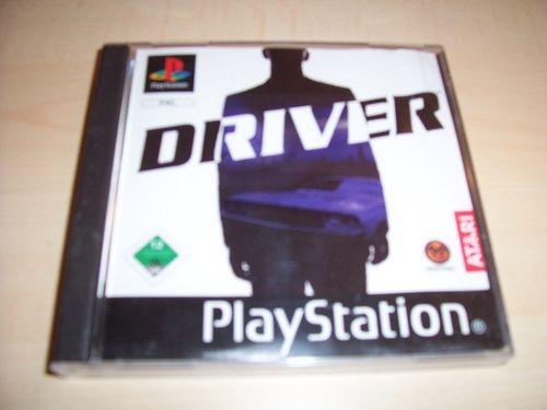 PlayStation 1 PS1 Spiel - Driver 1  PSone PSX  USK 12  - komplett ohne Anleitung  gebr.