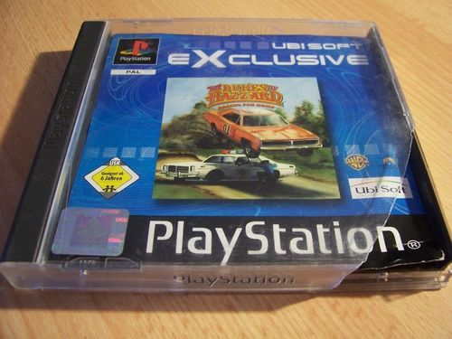 PlayStation 1 PS1 Spiel - The Dukes of Hazzard 1 Racing for Home PSone PSX USK 6 komplett ohne gebr.
