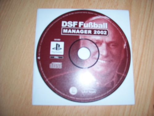 PlayStation 1 PS1 Spiel - DSF Fußball Manager 2002  PSone USK 0  - nur CD  gebr.