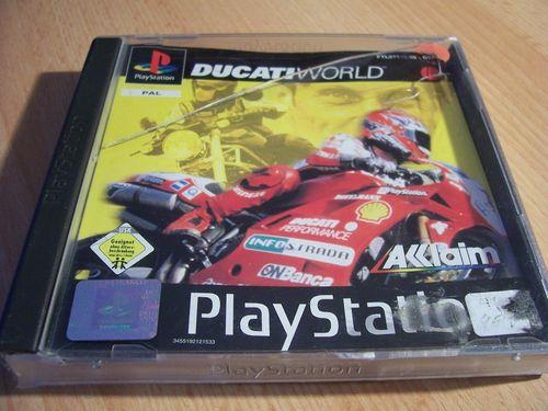 PlayStation 1 PS1 Spiel - 5 Ducati World  PSone PSX  USK 0  - komplett mit Anleitung  gebr.