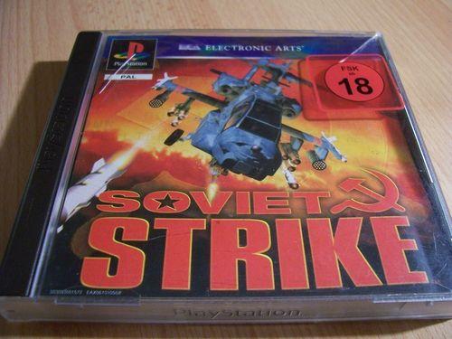 PlayStation 1 PS1 Spiel - Soviet Strike  PSone PSX  USK 18  - komplett mit Anleitung  gebr.
