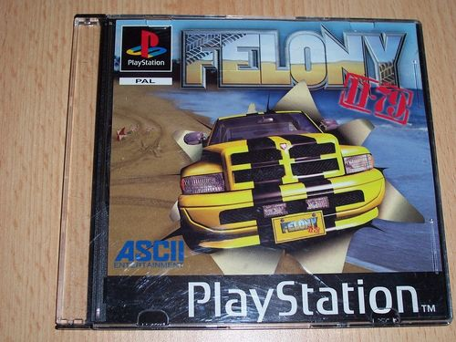 PlayStation 1 PS1 Spiel - Felony 11-79  PSone PSX  USK 12  - in Slimcase gebr.
