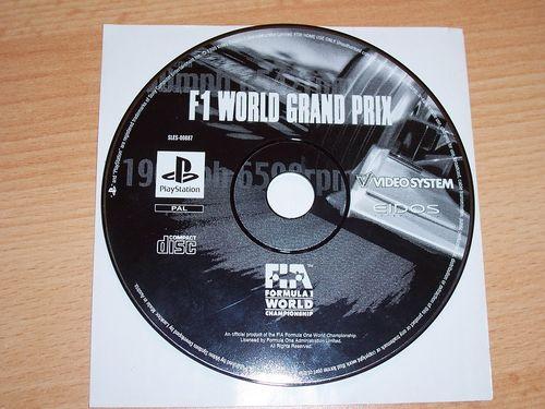 PlayStation 1 PS1 Spiel - F1 World Grand Prix 1999 - Formel 1 Formula 1 PSone USK 0 - nur CD gebr.