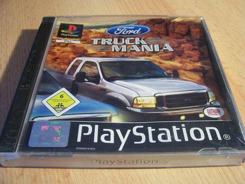 PlayStation 1 PS1 Spiel - Ford Truck Mania  PSone PSX  USK 6  - komplett mit Anleitung  gebr.