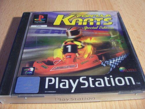 PlayStation 1 PS1 Spiel - Formula Karts Special Edition PSone PSX USK 0 - komplett + Anleitung gebr.